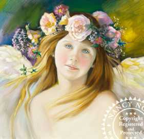 Angel Of Hope by Nancy Noel Pricing Limited Edition Print image