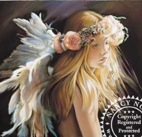 Angel Of The Arts by Nancy Noel Pricing Limited Edition Print image