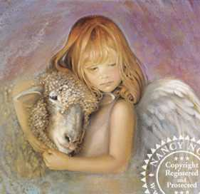 Autumn Angel by Nancy Noel Pricing Limited Edition Print image
