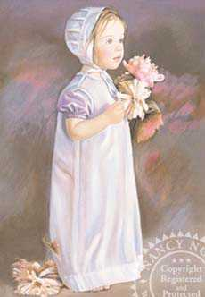 Flower Girl by Nancy Noel Pricing Limited Edition Print image