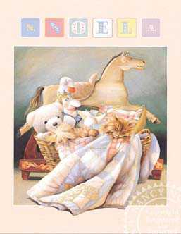 Toy Basket by Nancy Noel Pricing Limited Edition Print image