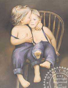Twins by Nancy Noel Pricing Limited Edition Print image
