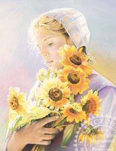 Sunflowers by Nancy Noel Pricing Limited Edition Print image