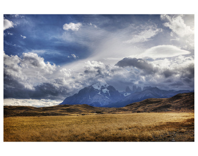 Mountain Peaks And Open Fields by Nish Nalbandian Pricing Limited Edition Print image