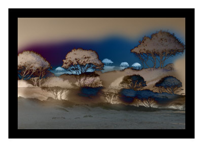 Bruned Trees Ii by Miguel Paredes Pricing Limited Edition Print image
