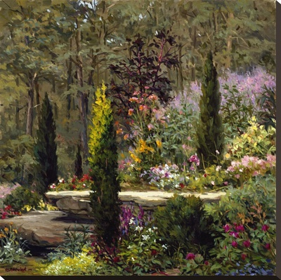 Woodland Garden by John Pototschnik Pricing Limited Edition Print image