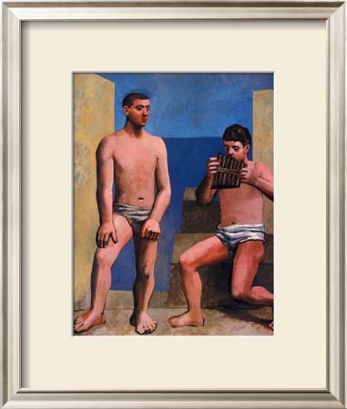 La Flute De Pan, C.1923 by Pablo Picasso Pricing Limited Edition Print image