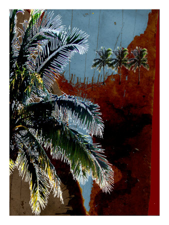 Blue Palms Vi by Miguel Paredes Pricing Limited Edition Print image