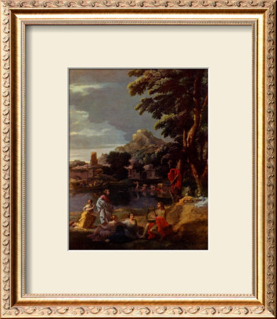 Orpheus And Eurydice by Nicolas Poussin Pricing Limited Edition Print image