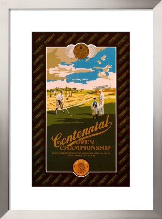 1995 U.S. Open Championship by Kenneth Reed Pricing Limited Edition Print image