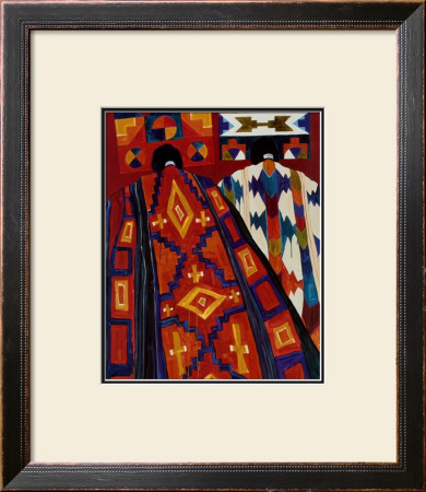 Tablitas And Blankets V by Dolona Roberts Pricing Limited Edition Print image