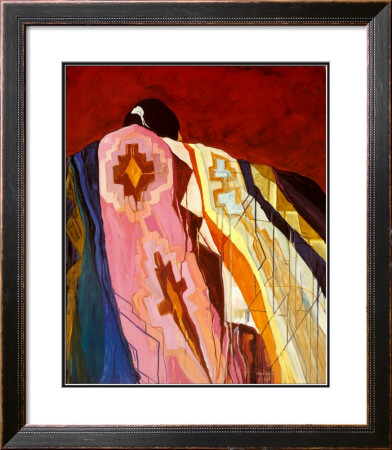 Many Colored Blanket by Dolona Roberts Pricing Limited Edition Print image
