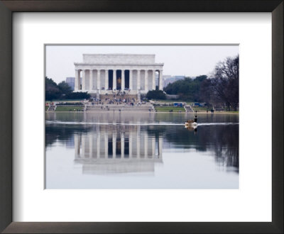 The Reflecting Pool And Lincoln Memorial, Washington, D.C. by Rich Reid Pricing Limited Edition Print image
