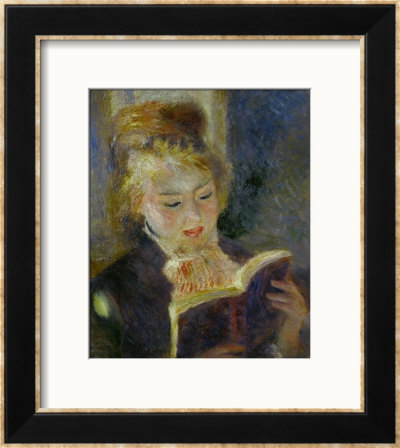 The Reader (La Liseuse), 1874-1876 by Pierre-Auguste Renoir Pricing Limited Edition Print image