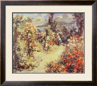 The Greenhouse by Pierre-Auguste Renoir Pricing Limited Edition Print image