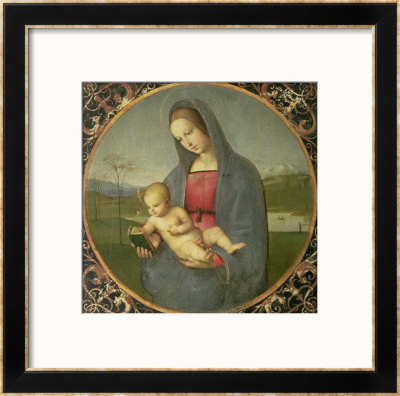 The Madonna Conestabile, 1502/03 by Raphael Pricing Limited Edition Print image