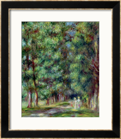 Path In A Wood, 1910 by Pierre-Auguste Renoir Pricing Limited Edition Print image