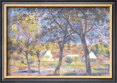The Outskirts Of Pont-Aven by Pierre-Auguste Renoir Pricing Limited Edition Print image