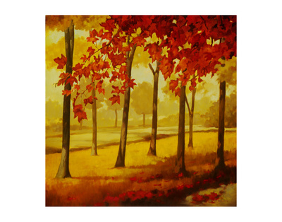 Maples At Dusk I by Graham Reynolds Pricing Limited Edition Print image
