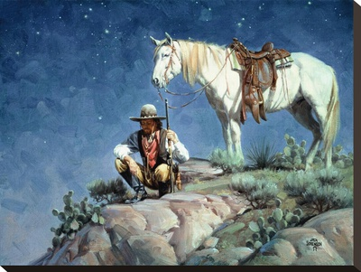 Scoutin' The Canyon Below by Jack Sorenson Pricing Limited Edition Print image