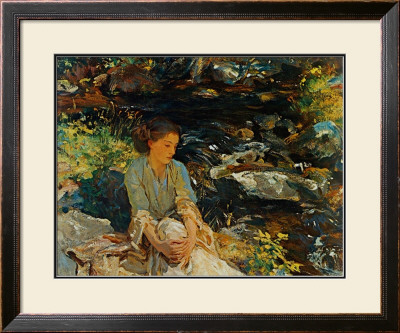Black Brook by John Singer Sargent Pricing Limited Edition Print image