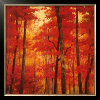 Vermilion Wood by Robert Striffolino Pricing Limited Edition Print image