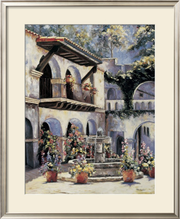Placita De Las Flores by Mary Schaefer Pricing Limited Edition Print image