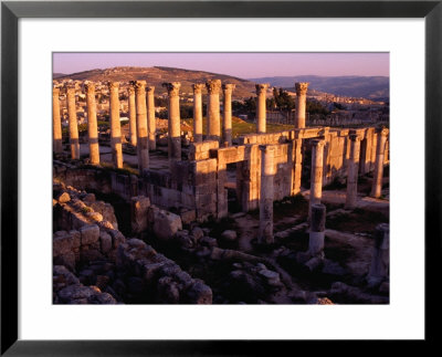 Decapolis City Of Jerash, With Church Of Theodore In Foreground, Jerash, Jordan by Damien Simonis Pricing Limited Edition Print image