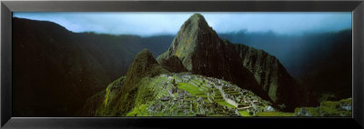 Machu Picchu, Los Andes, Peru by Mark Segal Pricing Limited Edition Print image