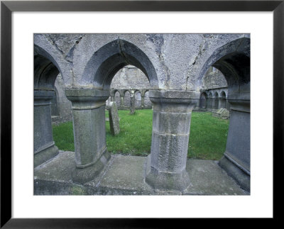 Ross Ereilly Friary, County Mayo, Ireland by William Sutton Pricing Limited Edition Print image