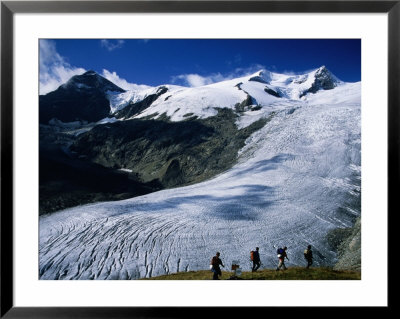 Schlaten Glacier, Grossvenediger Mountain From Alte Prager Hut, Hohe Tauren National Park, Austria by Witold Skrypczak Pricing Limited Edition Print image