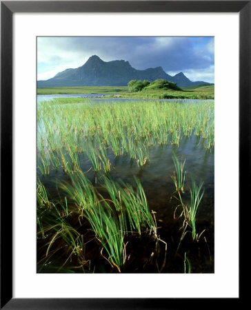 Ben Loyal From Lochan Hakel, Sutherland by Iain Sarjeant Pricing Limited Edition Print image