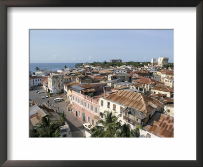 View Over Roof Tops, Old Town, Mombasa, Kenya, East Africa, Africa by Storm Stanley Pricing Limited Edition Print image