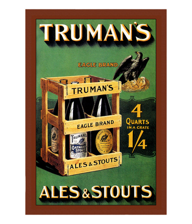Truman's Ales And Stouts by Frances Smith Pricing Limited Edition Print image