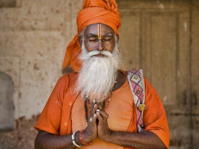 India Praying Man by Scott Stulberg Pricing Limited Edition Print image