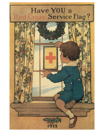 Have You A Red Cross Service Flag? by Lawrence Beall Smith Pricing Limited Edition Print image