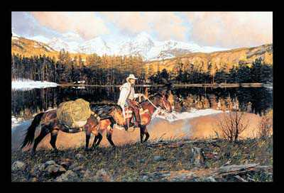 Travelin Gods Count by Craig Tennant Pricing Limited Edition Print image