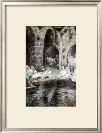 Pool Of Bethesda by James Tissot Pricing Limited Edition Print image
