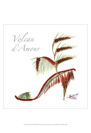 Volcan D'amour by Michel Tcherevkoff Pricing Limited Edition Print image
