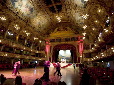 Tower Ballroom, Opened As Roller Skating Rink, Changed To Dance Venue In 1920S, Blackpool, England by Natalie Tepper Pricing Limited Edition Print image