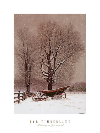 February At Riverwood by Bob Timberlake Pricing Limited Edition Print image