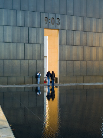 Gates Of Time, Oklahoma City National Memorial, Oklahoma City, 2000 by Natalie Tepper Pricing Limited Edition Print image