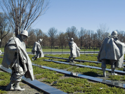Korean War Memorial, Washington Dc, 1995, Archit: Frank Chalfant Gaylord Ii, Louis Nelson, Others by Natalie Tepper Pricing Limited Edition Print image