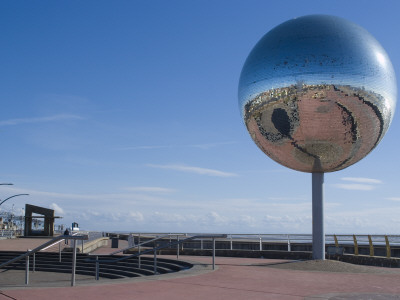They Shoot Horses, Don't They? The Mirror Ball Along The South Shore Promenade, Blackpool by Natalie Tepper Pricing Limited Edition Print image
