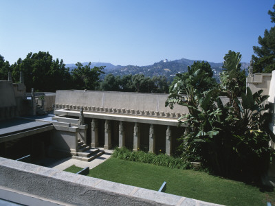 The Hollyhock House / Aline Barnsdall House, Hollywood Boulevard, Los Angeles, Frank Lloyd Wright by Natalie Tepper Pricing Limited Edition Print image
