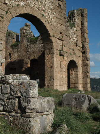 Ruins Of Byzantine Church At Roman Site, Aspendos by Natalie Tepper Pricing Limited Edition Print image