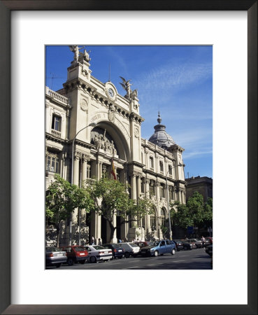 Post Office And Telegraph Building, Valencia, Spain by Sheila Terry Pricing Limited Edition Print image