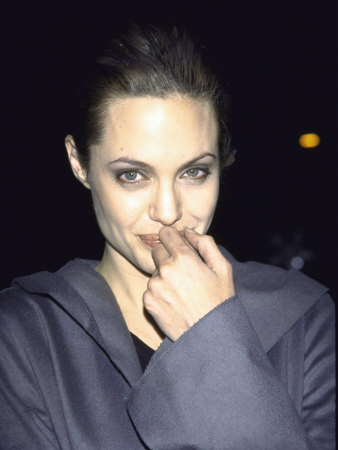 Actress Angelina Jolie At Film Premiere Of Her Girl Interrupted by Mirek Towski Pricing Limited Edition Print image