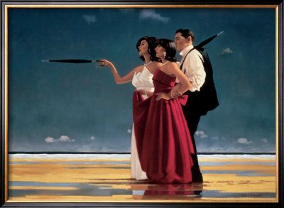 The Missing Man I by Jack Vettriano Pricing Limited Edition Print image