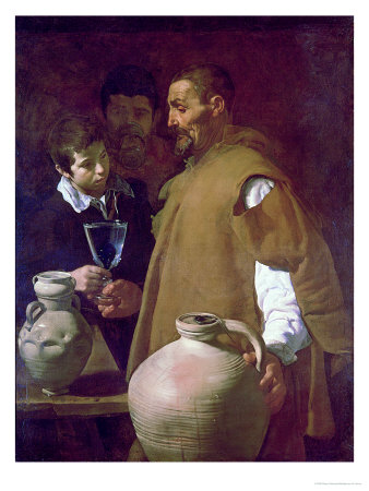 Waterseller Of Seville, Circa 1620 by Diego Velázquez Pricing Limited Edition Print image
